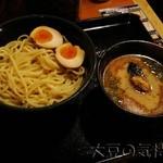 24972581 - つけ麺(大400g)+半熟味玉(¥950+¥100)