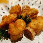 肴や BARO - 鶏肉コンフィの唐揚げ