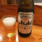 七べえ - まずは瓶ビール♪