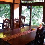 音羽山荘 - 夕食を頂いた個室