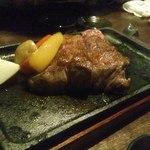 ゆだ七里 - 和牛の鉄板焼き