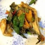 ノング インレイ - 2013年2月2日 カエルの炒め物