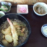 元柳 - 料理写真:天ぷら蕎麦