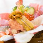野口鮮魚店 - 上 海鮮ちらし【2013年12月】