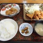 阿波水軍 - 日替わり定食(鳥のしょうが焼き定食)