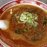 中国麺家万天 - 少子坦々麺(ひき肉辛し坦々麺)¥980