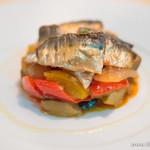bistro & cafe bar cache cache - ラタトゥイユと秋刀魚の燻製【2013年12月】