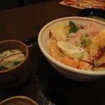 魚がし日本一 - この値段で 茶碗蒸しつき?ありえん