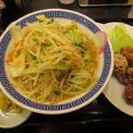 トナリ 東京駅東京ラーメンストリート店 - 辛タンカラ 980円