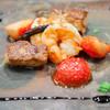 Mon Petit Cochon Rose - 料理写真:本日のフォアグラの料理【2013年12月】