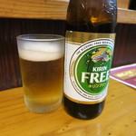 松龍軒 - ノンアルコールビール。