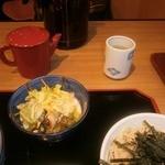 太田屋 - サラダ、蕎麦湯、ポットなど