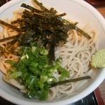 太田屋 - 冷やし蕎麦(+250円)