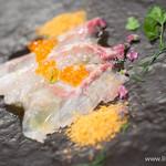 モンプチコションローズ - 鮮魚のカルパッチョ【2013年12月】