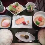 24996919 - 朝食セットメニュー朝餉(あさげ)
