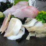 四ツ木製麺所 - 刺身