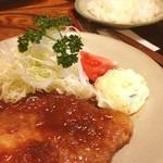 レストラン高野 - 料理写真:ポークソテー