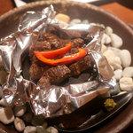 イチズ - ステーキ(岩塩とゆず胡椒)