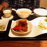 過門香 - 黒酢酢豚セット