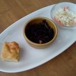 ユーヨーカフェ - 前菜三種盛り