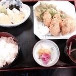 お食事処梅山 - かき定食  1890円