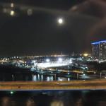 ホテルオークラ レストラン横浜 中国料理 桃源 - 窓の外は夜景に変わりました。