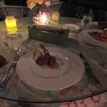 25012634 - 前菜/エビフライ/ローストビーフのアメリカン・ディナーSポーション:4200円