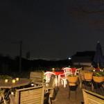 25013800 - テラス席より神戸の夜景が見えます