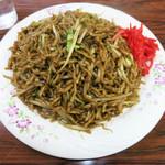 菊忠製麺 - ヤキソバ 600円