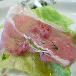 ダルブリガンテ - 前菜盛り合わせ(生ハムサラダ)