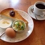 タンドールカフェ ダンヒル - 手作りヨーグルトがクリーミー♡パンもふんわり