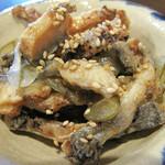 上村うなぎ屋 - うざく。                             鰻の蒲焼を短冊状に刻み、甘目の酢で和えたものです。