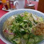 玉名拉麺 千龍 - 料理写真:野菜ラーメン