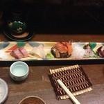 Fukuwauchi - お刺身盛り合わせ