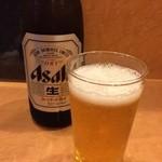 なお吉 - 今日はビールが旨かった