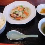 啄 - 海鮮塩炒め(ランチ)