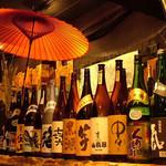 鳳仙花 - 夢のシチュエーションが目の前に…通常飲み放題に+500円でビールベース・カクテル・焼酎・梅酒・地酒の種類がランクアップ♪