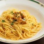 Taverna Mezzanotte - スパゲッティーニ 生ウニのクリームソース