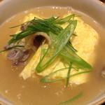 Okaichi - 地鶏スープで食べるトロトロ玉子焼き