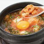 牛角 - 海鮮キムチの豆腐チゲ