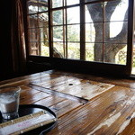 昇福亭 - 今日いただいたのは、この席です