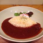 チコラカフェ - 「チコラカフェの特製カレー @650円」