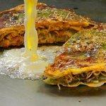 三國志 - デンマーク産 チーズのお好み焼