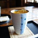 昇福亭 - オレンジジュースです