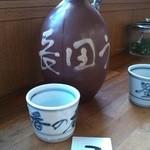 釜あげうどん 長田 in 香の香 - うどん出汁