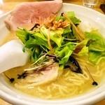 麺屋 信成 - 土日限定「福島鶏白湯」