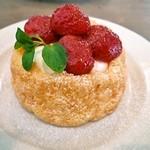 ユキカフェ - 苺のタルト