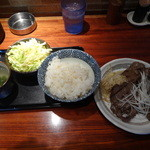 しずる - 牛タン塩焼きランチ1,150円