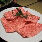 よしはし - お替りの肉(1枚3000円×4)