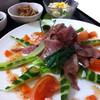 近江牛と地元野菜 ダイニングMOO - 料理写真:カルパッチョセット